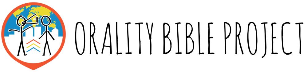 Orality Bible logo banner