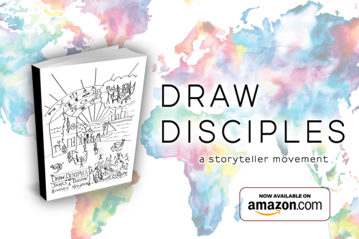 draw disciples book map