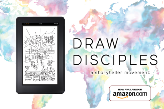 draw disciples kindle map copy