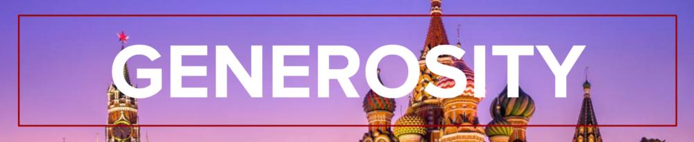 love russia mission generosity banner