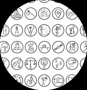 story drawing circle