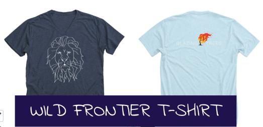 wild frontier tshirt promo