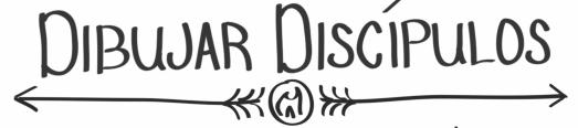 dibujar discipulos banner