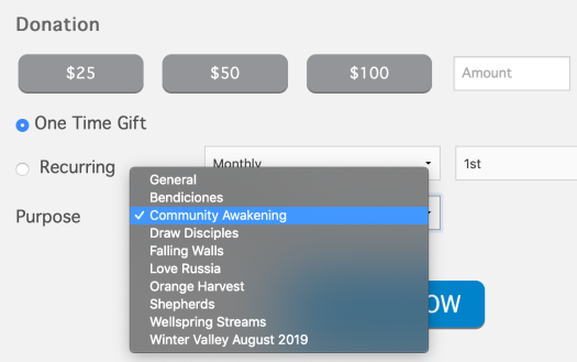 awakening give