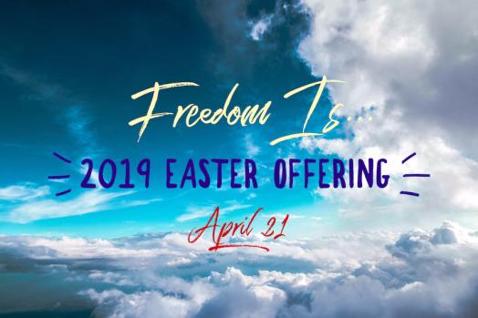 2019 easter offering