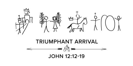 john 12 - triumphant arrival master