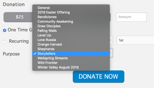 storytellers give