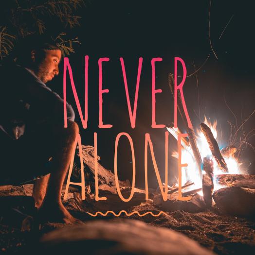 never alone insta