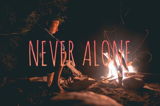 never alone web